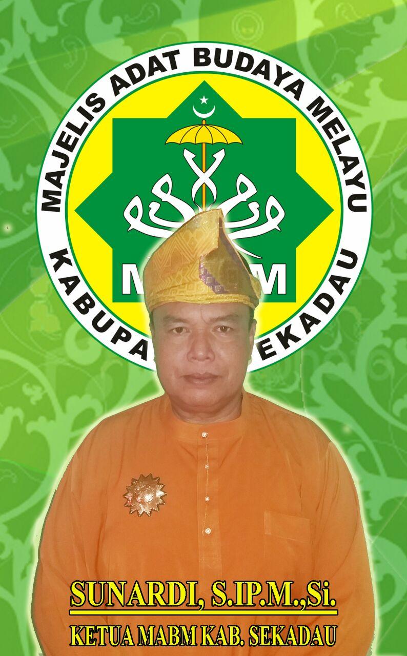 Ketua Umum MABM Kab. Sekadau Sunardi, S.IP.M.Si