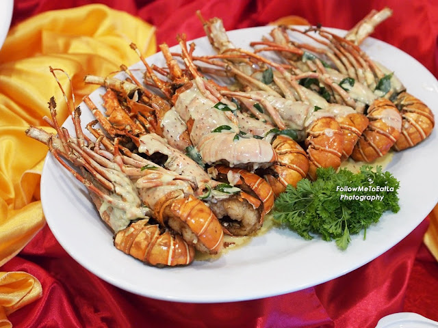 Cheese Baked Baby Lobster