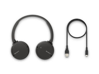 Sony WHCH500 On-Ear Headphones with Mic Reviews & Price