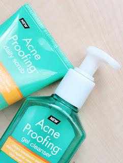 Neutrogena Acne Proofing Gel Cleanser and Facial Scrub | SamiJoie