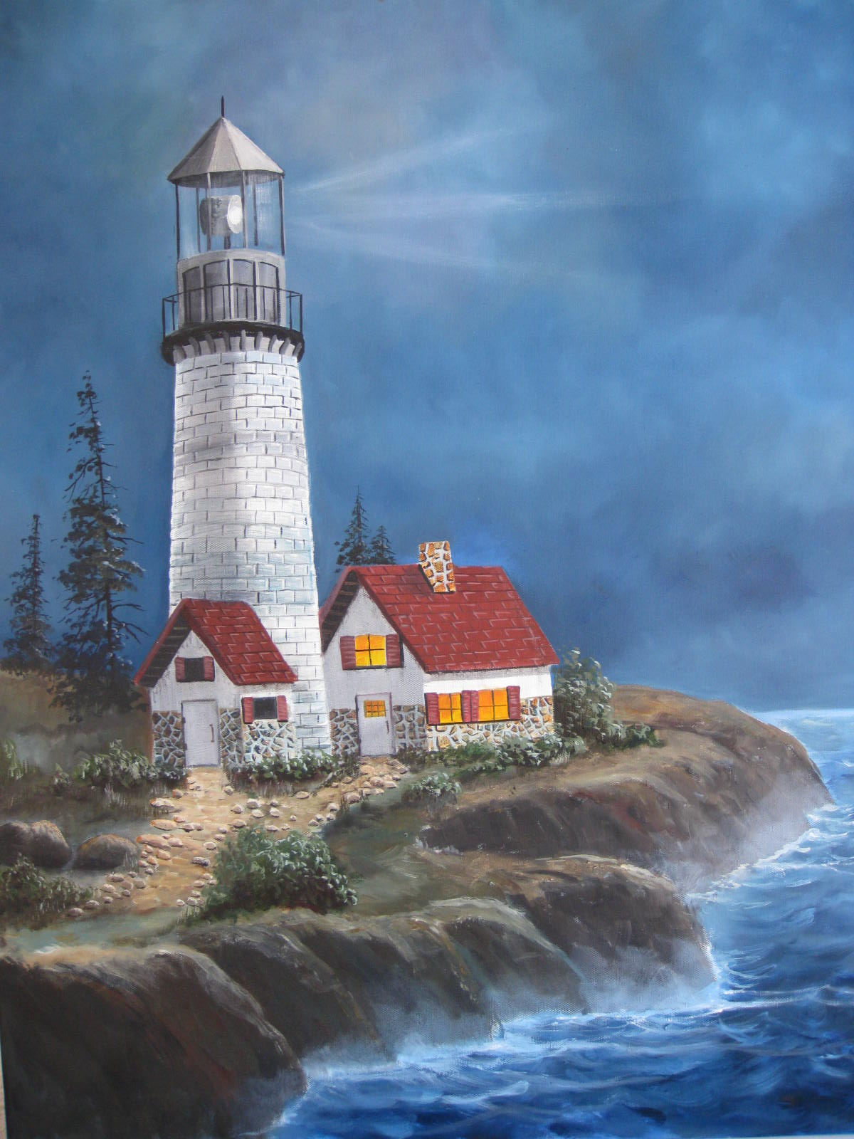 Barb Mcmahon Art Ocean Scenes Amp Lighthouses