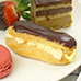 French, Eclairs , Chocolate, Pastry Cream, Afternoon tea