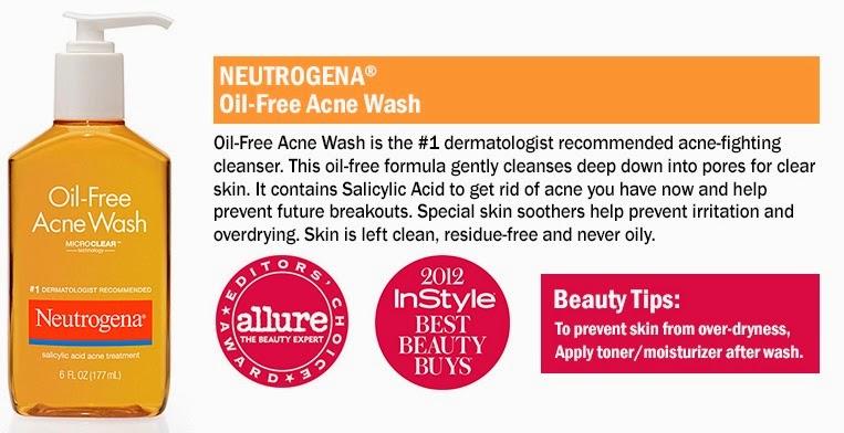 Editorial Reviewz: Neutrogena Oil-Free Acne Wash Review