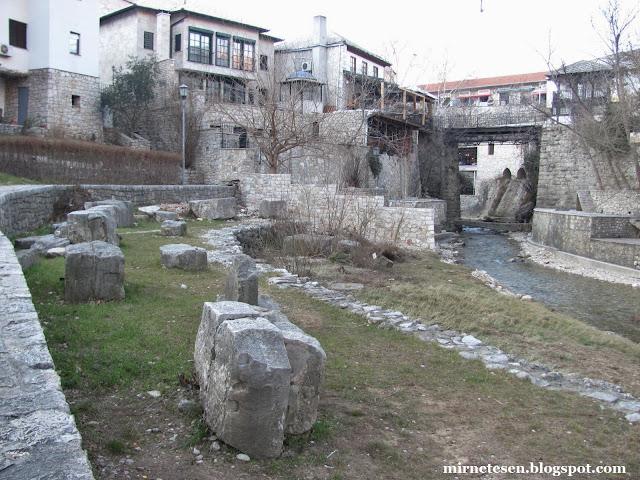 Мостар - руины Старого Моста