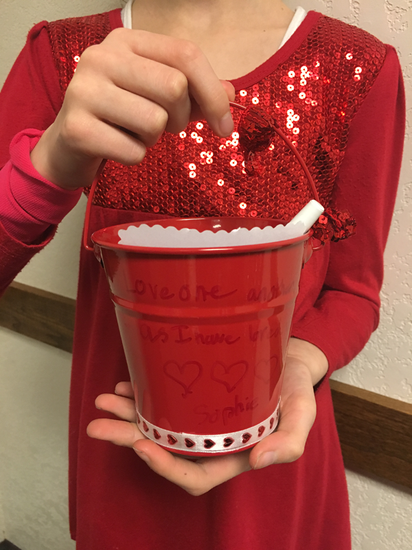 Love Buckets for Activity Days with Free Printable