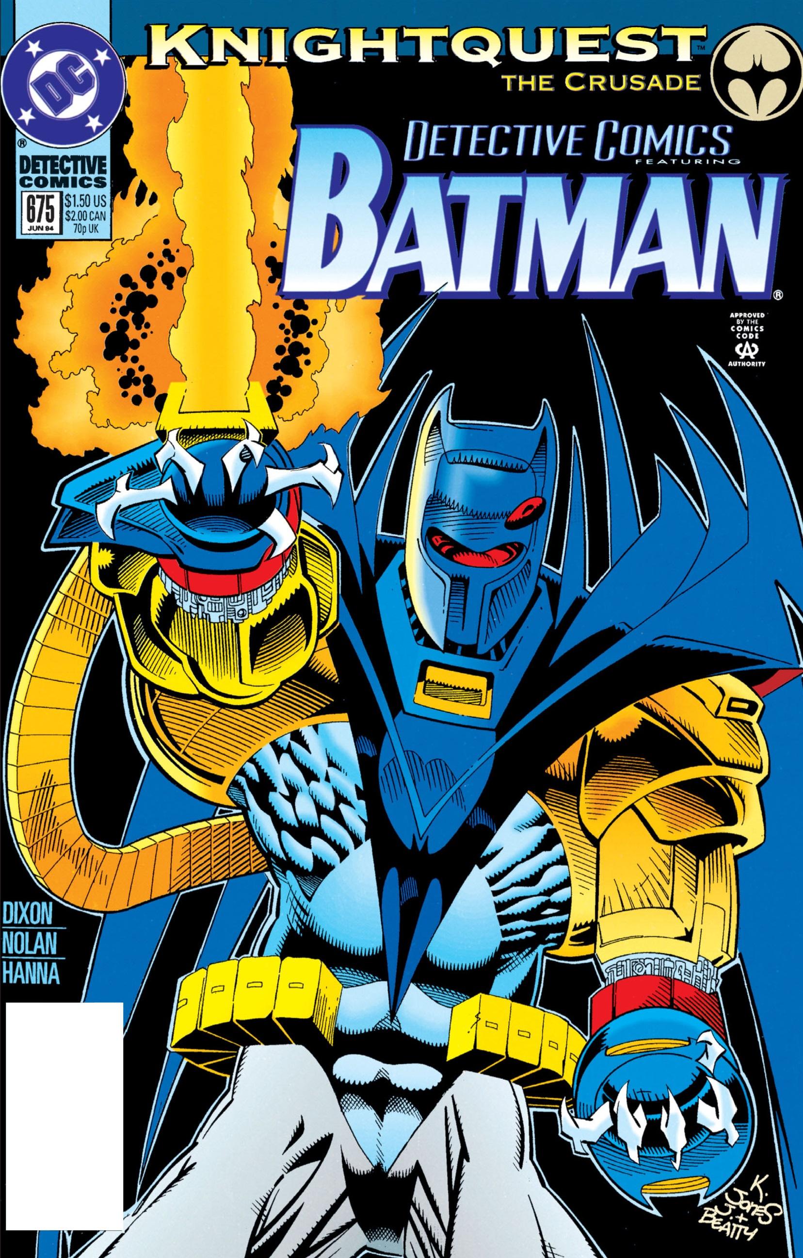 Detective Comics (1937) 675 Page 0