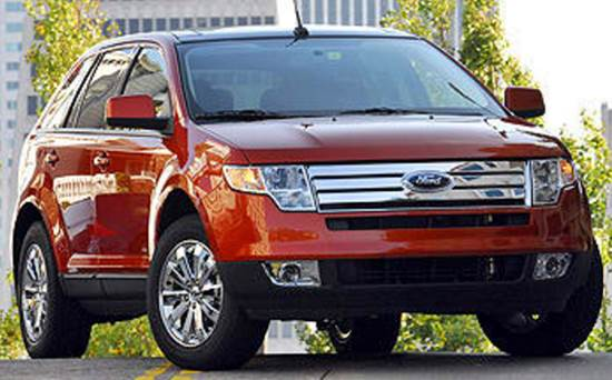 2008 Ford Edge Towing Capacity