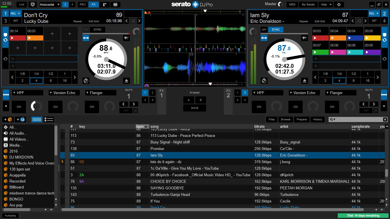 Serato DJ 2 Pro Skin For Virtual DJ 2 and 4 Decs | Zone