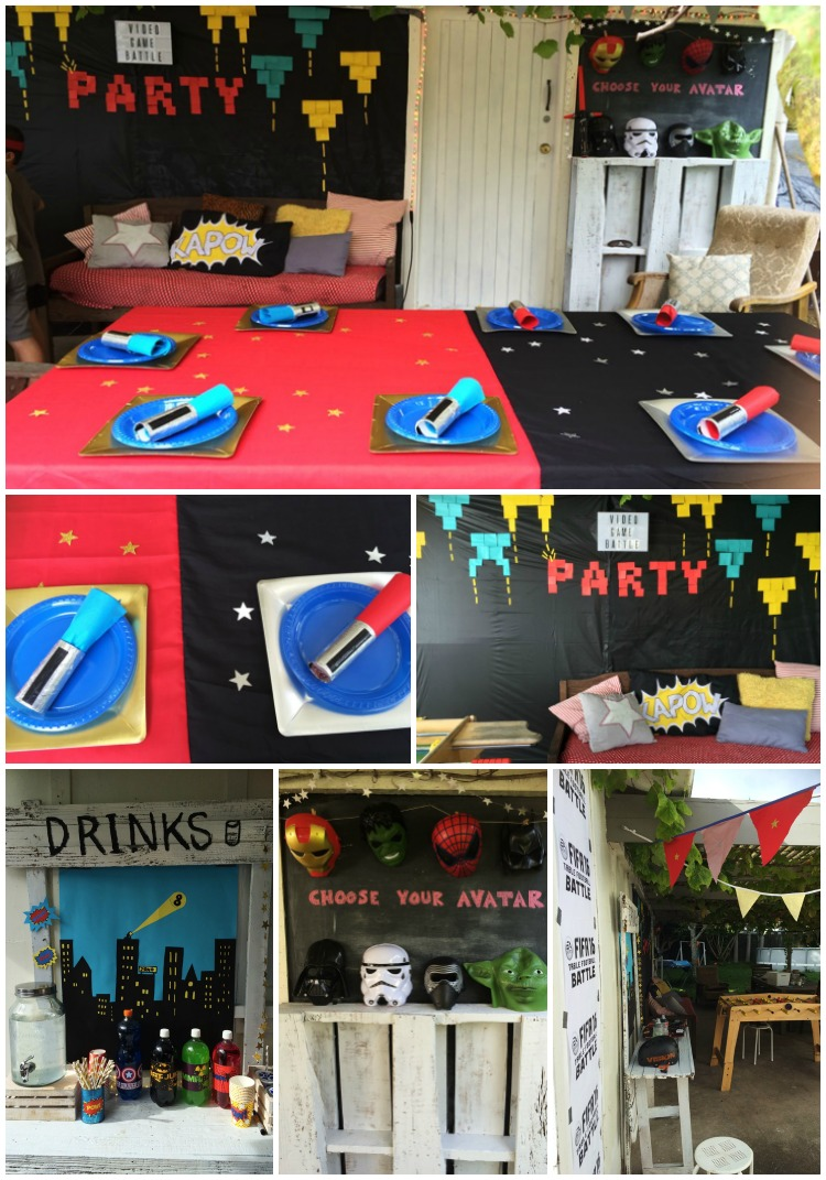 Video Game Battle Party decor