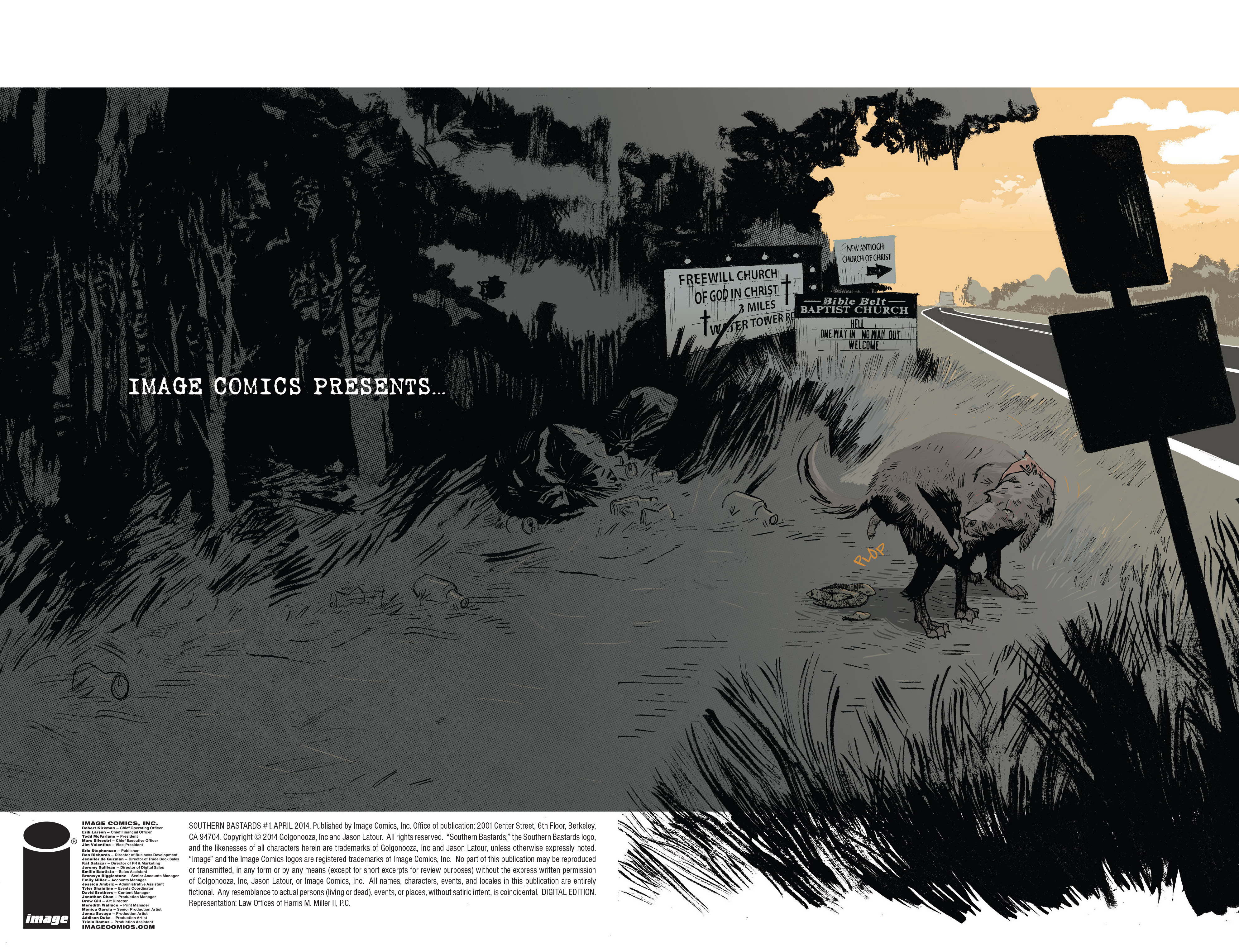 Read online Southern Bastards comic -  Issue #1 - 2