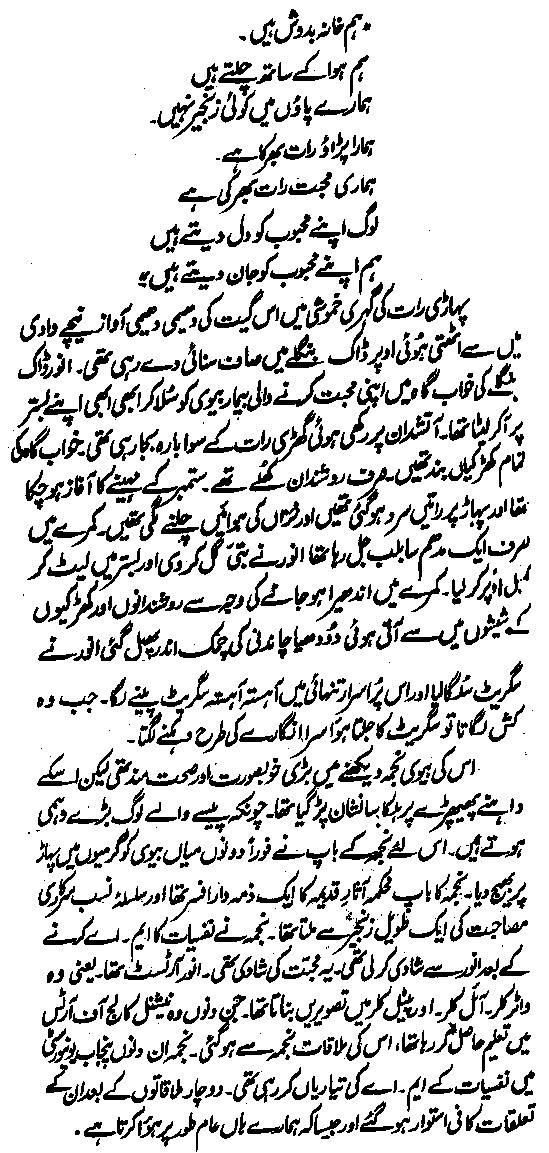 A Hameed Novel Gulab Ki Tehni PDF