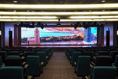 Nơi thi công màn hình led p3 cabinet trong nhà tại Thái Bình