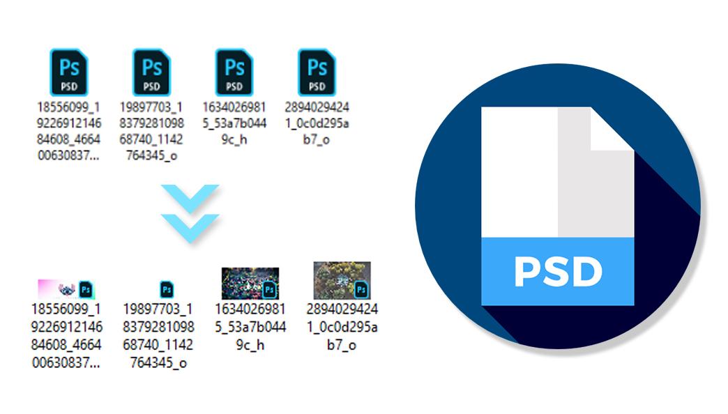 Hiển thị thumbnail của file PSD, AI trên Windows Miễn Phí