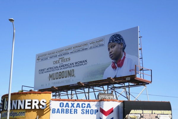 Dee Rees Mudbound Oscar billboard