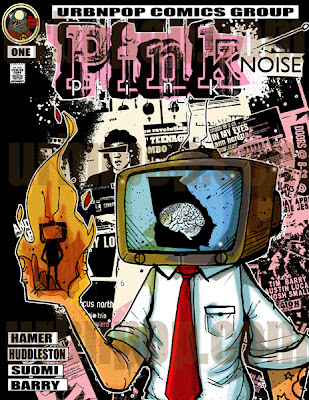 Pink Noise Comic Book, by Chris Hamer