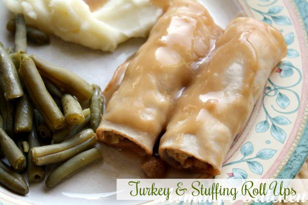 Turkey & Stuffing Roll Ups