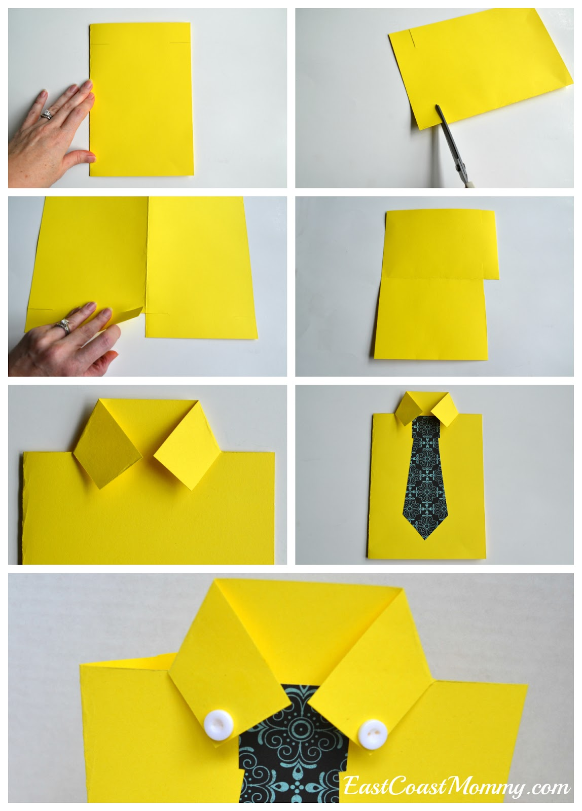 Super Easy Origami Shirt Folding Instructions | 1600x1148