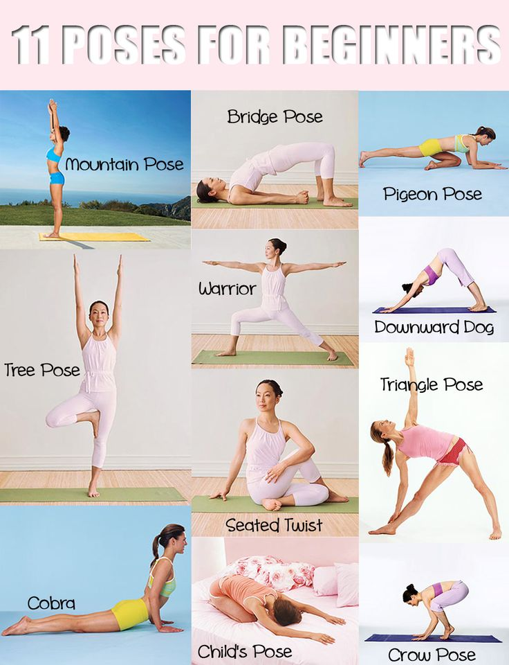 11 Yoga Poses For Beginners Fitnessfriday Mommy S Block Party