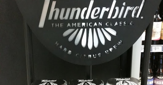 What's the word? Thunderbird Hard Citrus Brew!