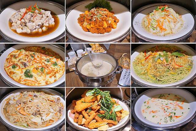 DSC09053 - 熱血採訪│台中吃到飽,公益路潘朵拉之宴平日中午自助吧吃到飽只要215元,平日經濟排餐240元起
