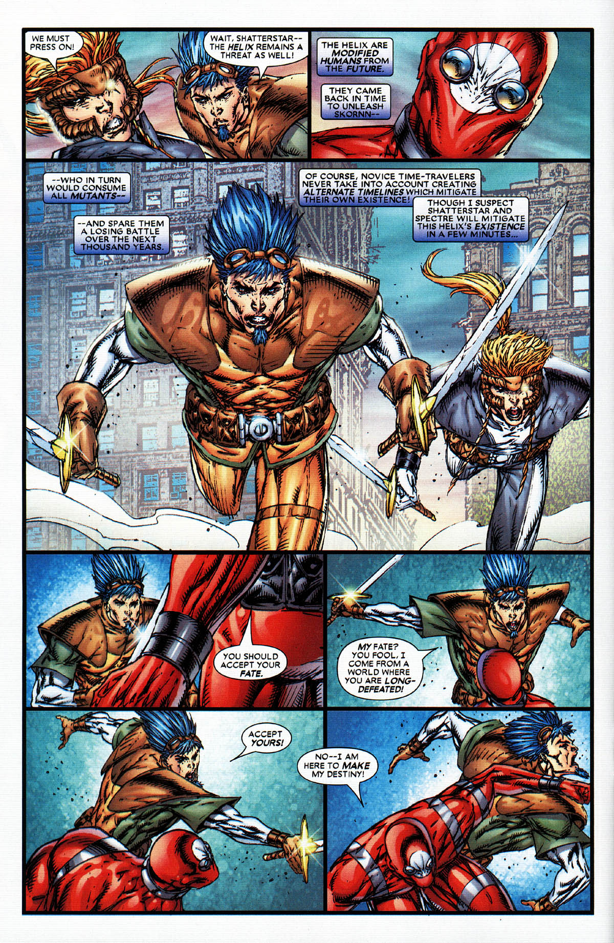 Read online X-Force (2004) comic -  Issue #6 - 12