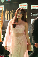 Nidhi Subbaiah Glamorous Pics in Transparent Peachy Gown at IIFA Utsavam Awards 017.JPG