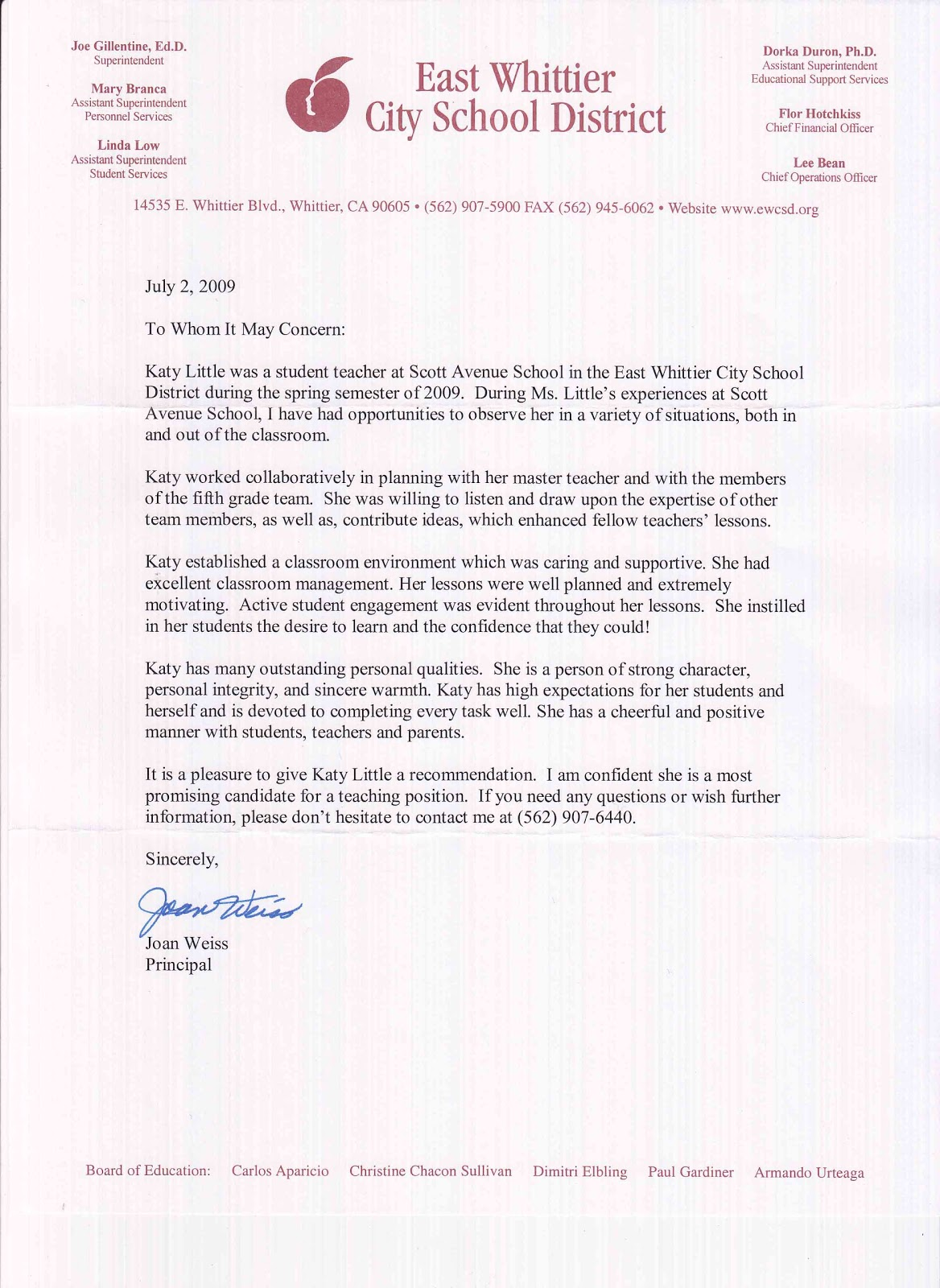 Recommendation Letter for Scholarship Template – with Samples