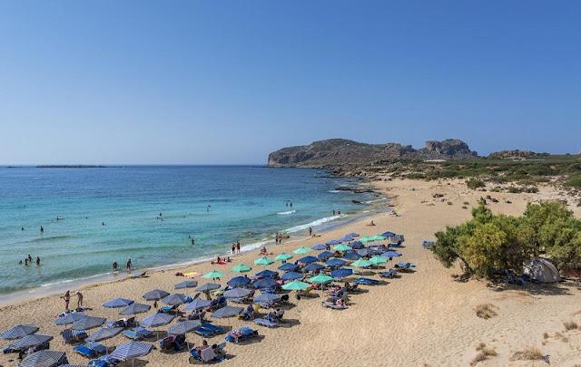 Praias para crianças em Creta
