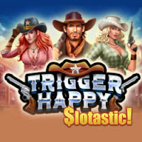 Get up to 75 free spins on New Trigger Happy from RTG This Week at Slotastic