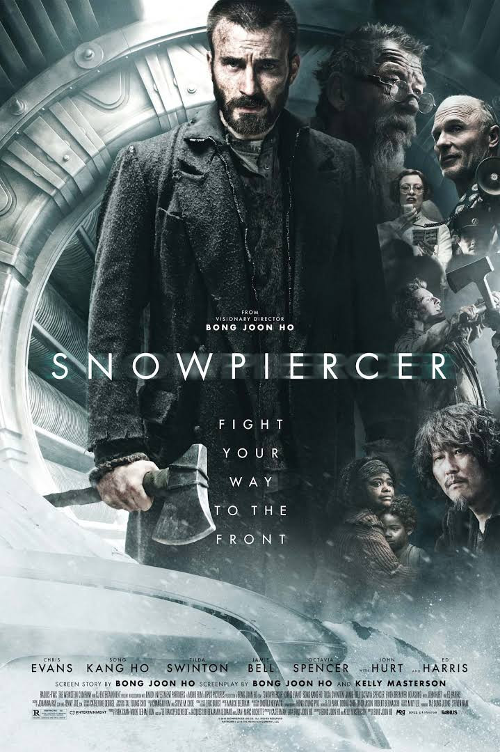 Snowpiercer 2013 Hindi Dual Audio 350MB BluRay Download