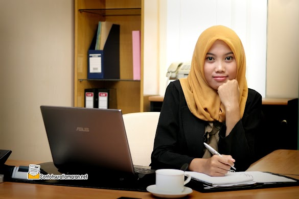 Contoh Surat Lamaran Pekerjaan untuk Kerja Kantoran