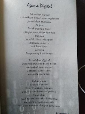 Puisi berjudul Agama Digital Karya Agus Mustofa (Part 1)