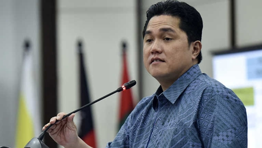 Erick Thohir Sindir Prabowo-Sandiaga: Diubah Berarti Tak Yakin dengan Visi Misinya
