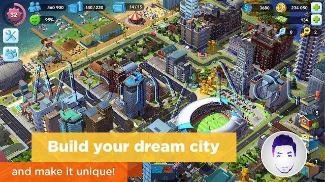تحميل لعبة بناء المدن سيم سيتي