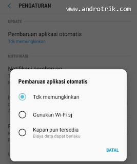 3 Langkah Mudah Mematikan Auto Pembaruan Software Galaxy Apps.
