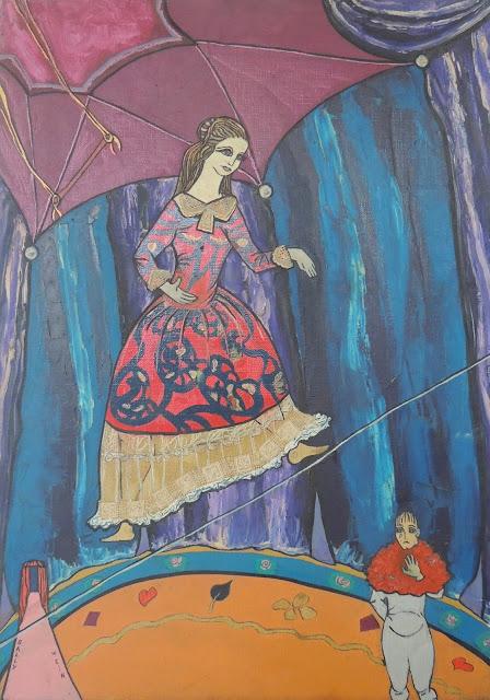 Sally Weintraub arte naíf surrealismo circo