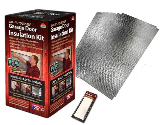 #Groupon, #Ad, Groupon Goods, Garage Door Insulation Kit on Sale, American Flag bunting on sale, Solar lights on sale.