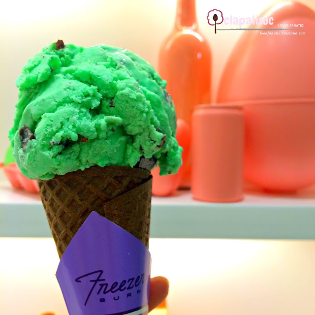 Mint Ice Cream from Freezer Burn
