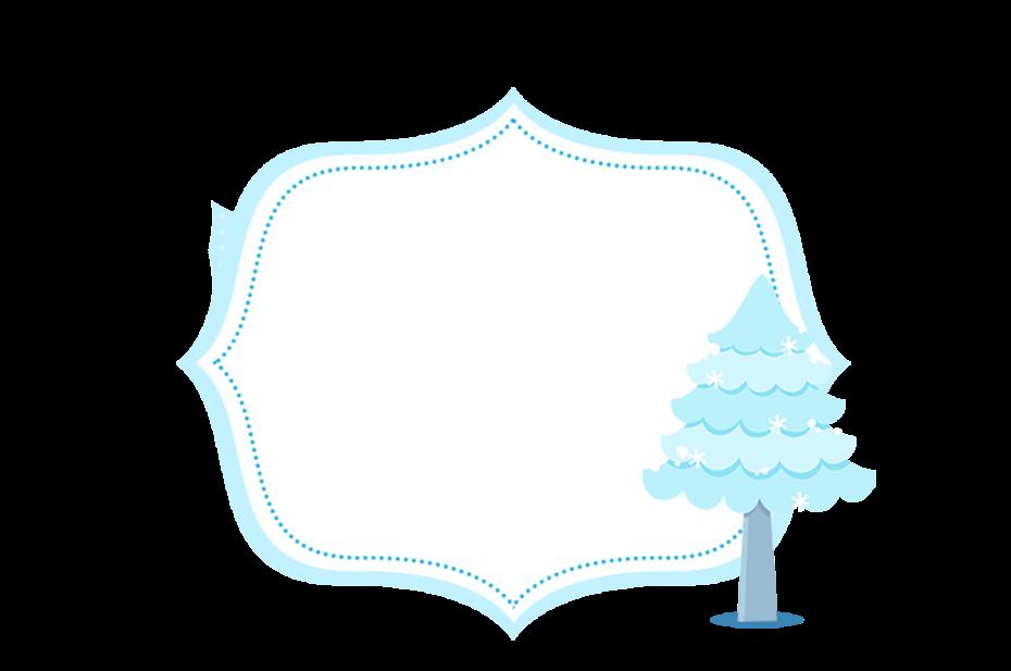 Imágenes para Imprimir Gratis de Frozen Niñas para Navidad Azul.