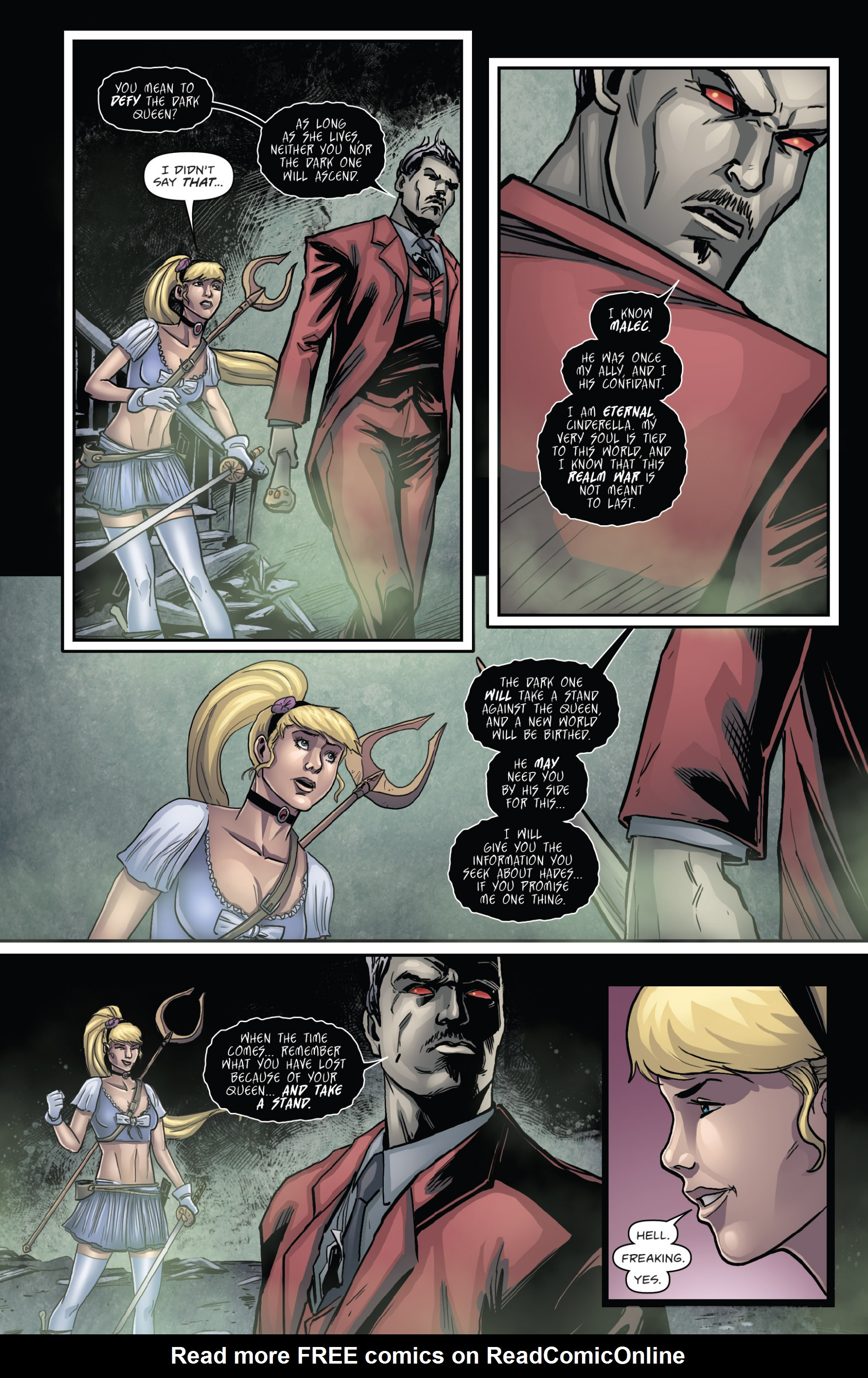 Read online Grimm Fairy Tales presents Cinderella: Age of Darkness comic -  Issue #2 - 17