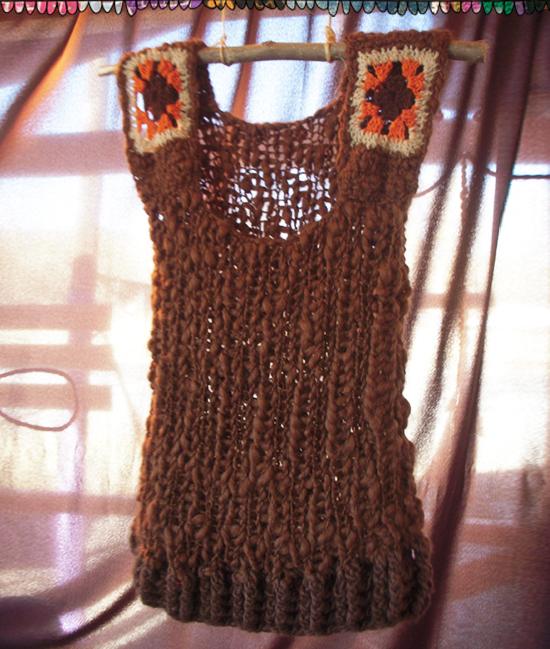 Crochet tibetano gorro del chavo jpg 550x649 Crochet tibetano gorro del  chavo 25092bc42dd