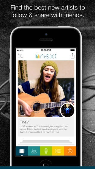 Next — Social Music Discovery