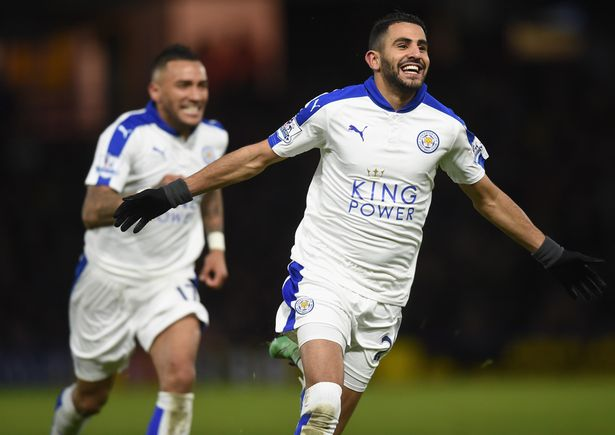 Leicester runs away as Tottenham and Arsenal split points