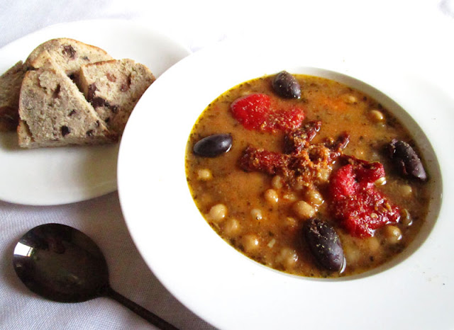 North African Chickpea Soup (Leblebi)