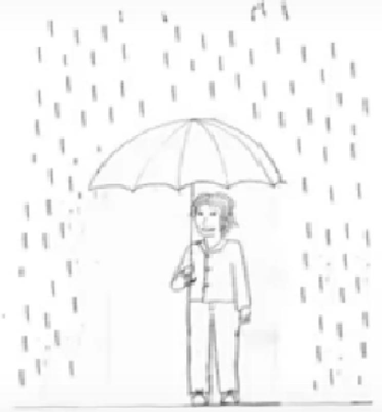 Erika Rojas Portilla Test Persona Bajo La Lluvia