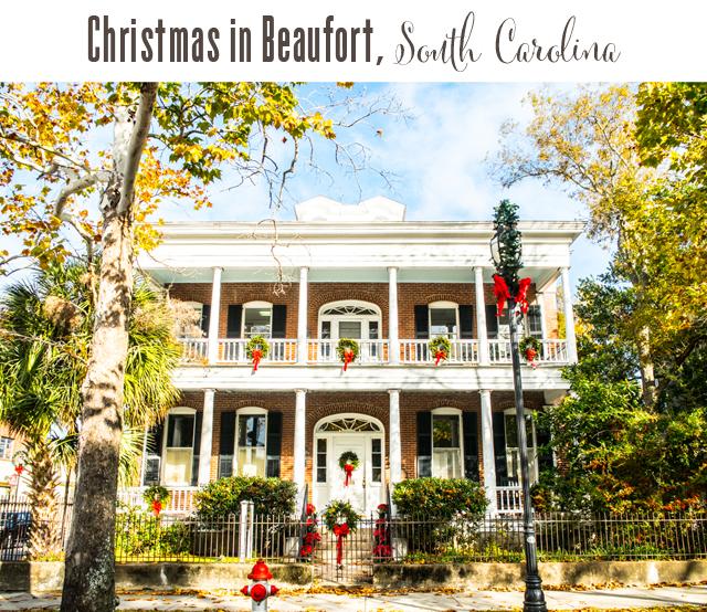 Beaufort South Carolina Christmas