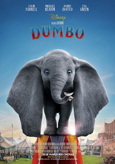 Dumbo ganha novo pôster