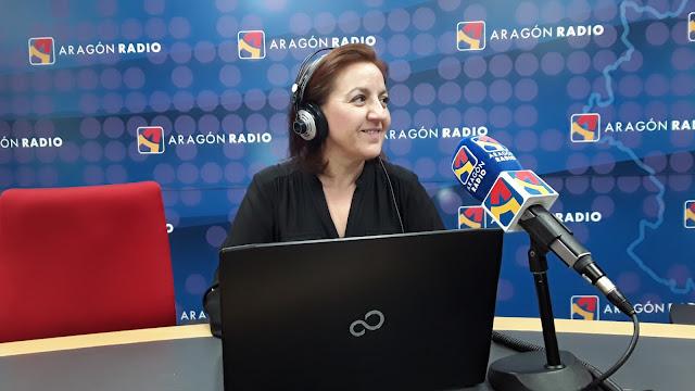 Ana Segura. Foto Aragón Radio