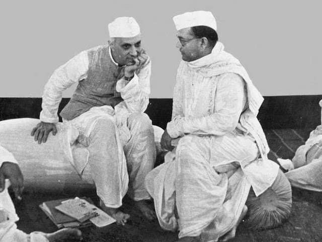 Subhash Bose and Jawaharlal Nehru