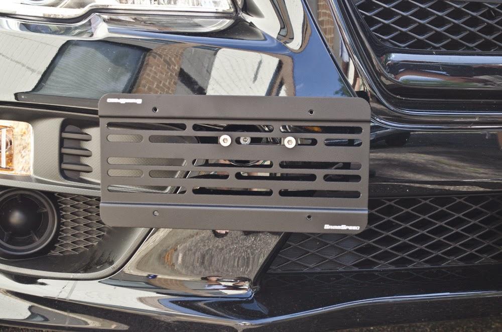 GrimmSpeed License Plate Relocation Kit Subaru WRX or STI